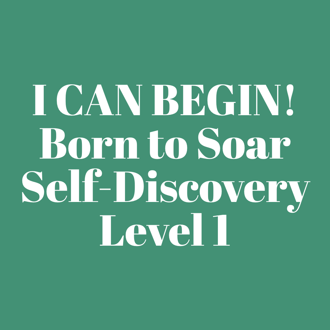 Born to Soar Level 1 - I Can Begin